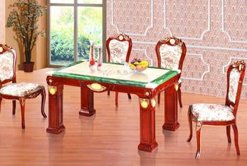 【家庭餐桌】XS-62(六拼玉石 翡翠边)